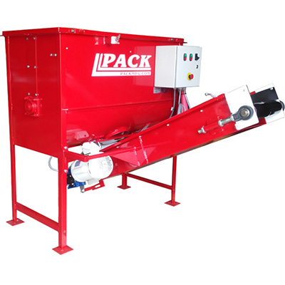 1 yard Pack Mfg mixer