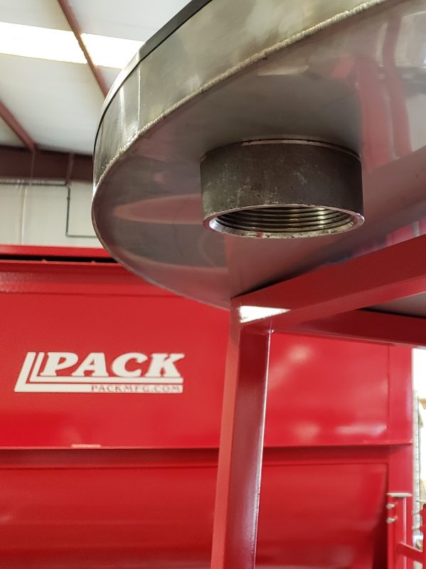 Pack Mfg Accumulator Table and Mixer