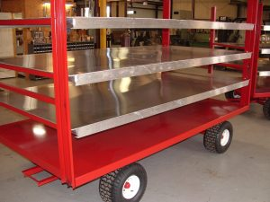 Pack Mfg Tracking wagon