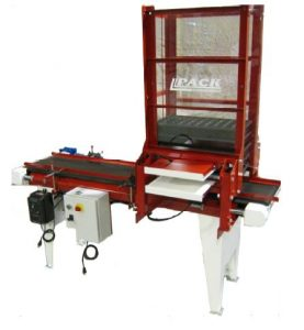 Pack Mfg Tray Destacking System w/ Conveyor