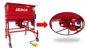 Pack Mfg. Mushroom Mixer and Bagger